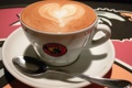 Картинка ложка, кофе, копучино, сердце, чашка, пенка