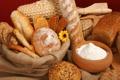 Картинка цветок, хлеб, булка, мука, корзины, батон