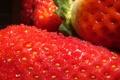 Картинка капли, мякоть, клубника, strawberry