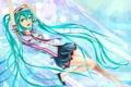 Картинка vocaloid, радость, девушка, форма, art, cabulb, вокалоид