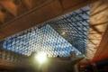 Картинка солнце, лучи, люди, лестница, тени, Paris, Louvre