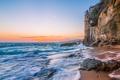 Картинка камни, берег, горы, скалы, пиратская башня, море