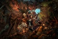 Картинка магия, сражение, Diablo 3, фан-арт, Bloody Battle, MadBrush