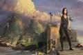 Картинка корабли, развалины, Tomb Raider, Лара Крофт, Lara Croft
