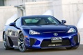 Картинка синий, Lexus, blue, лексус, AU-spec, LFA
