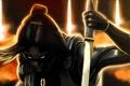Картинка поза, блики, меч, Mass Effect, Kai Leng
