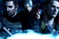 Картинка wallpaper, Resident Evil 6, Leon Scott Kennedy, Chris Redfield