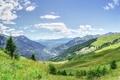 Картинка небо, горы, олака