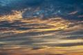 Картинка небо, облака, тучи, рассвет, солнечный свет