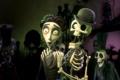 Картинка скелет, Тим Бёртон, юноша, Виктор, Труп невесты, бледный со взором горящим :)