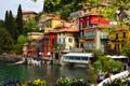 Картинка дома, Италия, Italy, архитектура., cities, Lombardy, Varenna