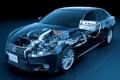 Картинка двигатель, lexus, седан, лексус, передок, гибрид, 450h