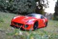 Картинка Ferrari, Red, road, 599, macro, bokeh, track
