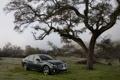 Картинка деревья, горы, туман, дерево, авто обои, фото авто, Infiniti M 2012