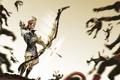 Картинка лук, final fantasy, art, лучник, Yoichi Bow