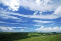 Картинка облака, долина, небо, поля