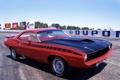 Картинка мускул кар, muscle car, плимут, куда, plymouth, cuda