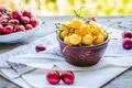 Картинка лето, ягоды, черешня