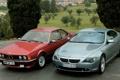 Картинка деревья, красный, парк, серый, бмв, BMW, and