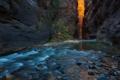 Картинка камни, река, скалы. природа, ущелье