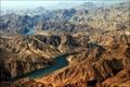 Картинка горы, река, рельеф