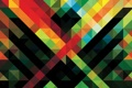 Картинка линии, обои, цвет, клетки, пересечение