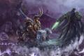 Картинка starcraft, Heroes of the Storm, zeratul, muradin