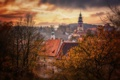 Картинка город, осень, Чехия, Чески-Крумлов, Český Krumlov