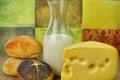 Картинка кунжут, булочки, сыр, тмин, молоко