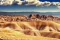 Картинка облака, горы, холмы, пустыня, сша, колорадо