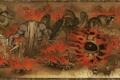 Картинка картина, бой, монстры, Kajiri Kamui Kagura