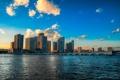 Картинка вода, мост, Майами, вечер, Флорида, Miami, florida