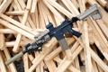 Картинка оружие, винтовка, штурмовая, полуавтоматическая