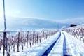 Картинка дорога, пейзаж, природа, фото, Зима, даль, Горы