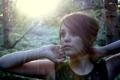 Картинка Imogen, солнечные лучи, взгляд, портрет