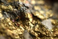 Картинка metal, gold, pattern, rocks, mineral