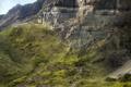 Картинка зелень, горы, скалы, арт, Alberto Vangelista