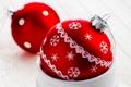 Картинка декорации, узор, Рождество, Christmas, New Year, елочные, игрушки