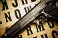 Картинка пистолет, оружие, 1911, самозарядный, Remington R1