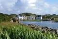 Картинка город, озеро, Kintyre