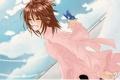 Картинка небо, бабочка, аниме, vampire knight, yuki