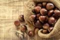 Картинка фундук, мешок, лесной орех, орехи, дерево