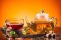 Картинка tea, заварной чай, листики чая, tea leaves, brewed tea, сахар, sugar