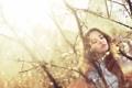 Картинка девушка, природа, настроение