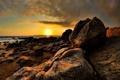 Картинка море, вода, солнце, природа, камни, фото, океан