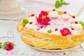 Картинка торт, крем, десерт