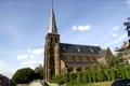 Картинка башня, церковь, Бельгия, Protestants-Evangelische Kerk Landen