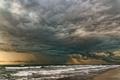 Картинка море, тучи, шторм