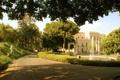 Картинка замок, сад, Италия, архитектура, дворец, экстерьер