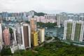 Картинка город, фото, дома, Гонконг, небоскребы, Китай, мегаполис